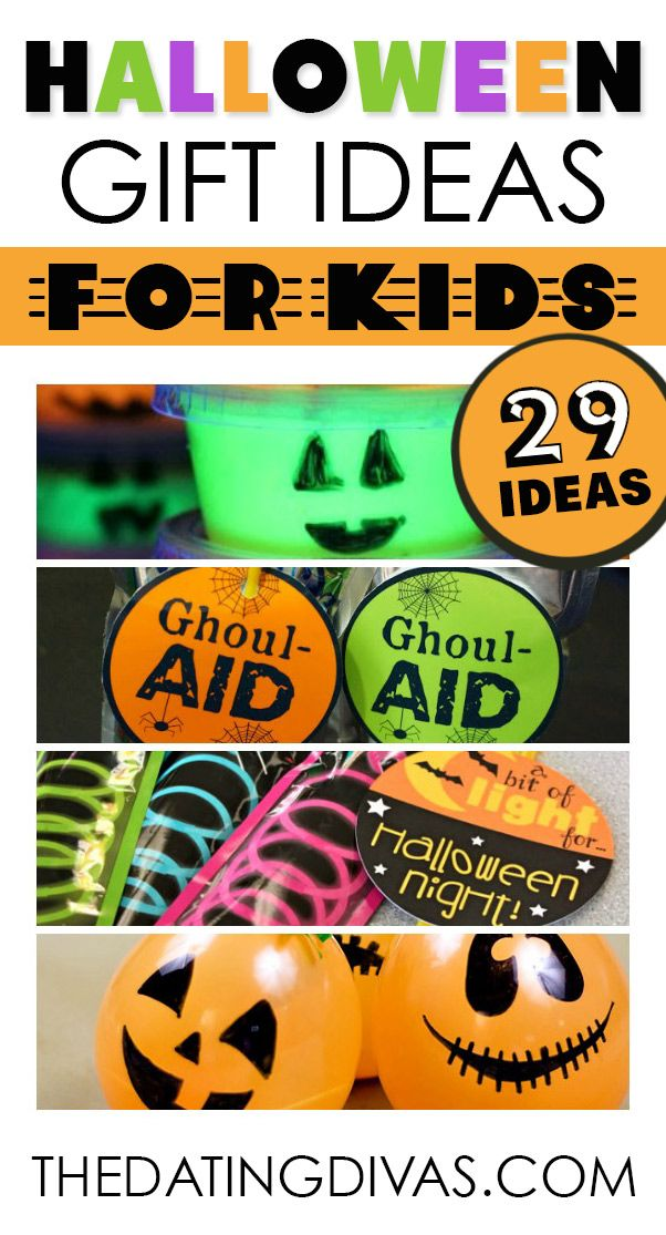 101 Easy Halloween Gift Ideas Gift, Halloween ideas and Holidays - cute halloween gift ideas