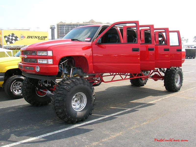 Jacked Up Truck Limo! I Want This For Some Special Occasion.I Donu0027t Care  How Tacky It May Be!