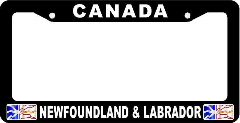 Newfoundland License Plate Frames | License Plate Frames | Pinterest ...