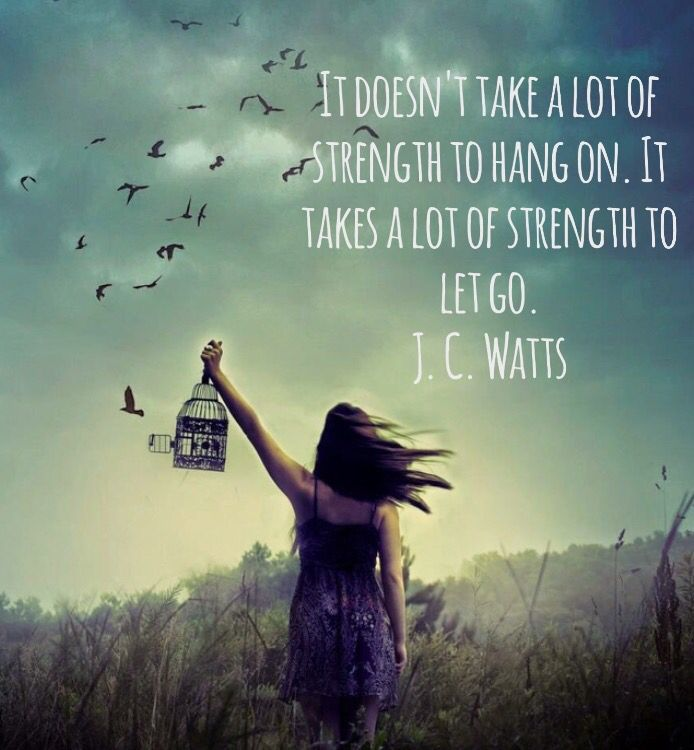 It Doesn T Take A Lot Of Strength To Hang On It Takes A Lot Of Strength To Let Go J C Watts Criminal Minds Quotes Wisdom Books Literary Quotes