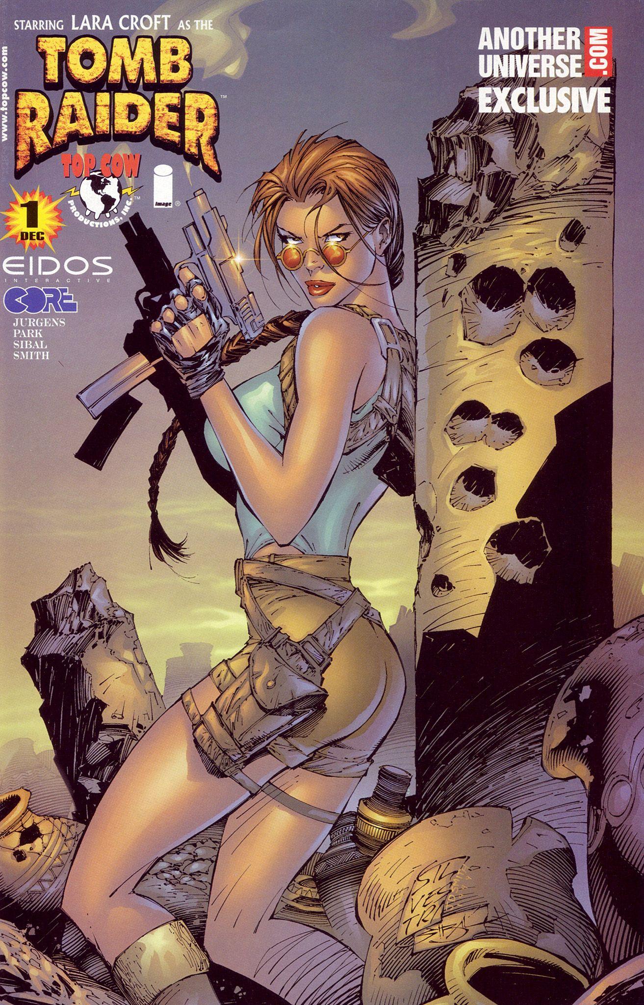 Lara Croft As The Tomb Raider 1 By Marc Silvestri Female Comic