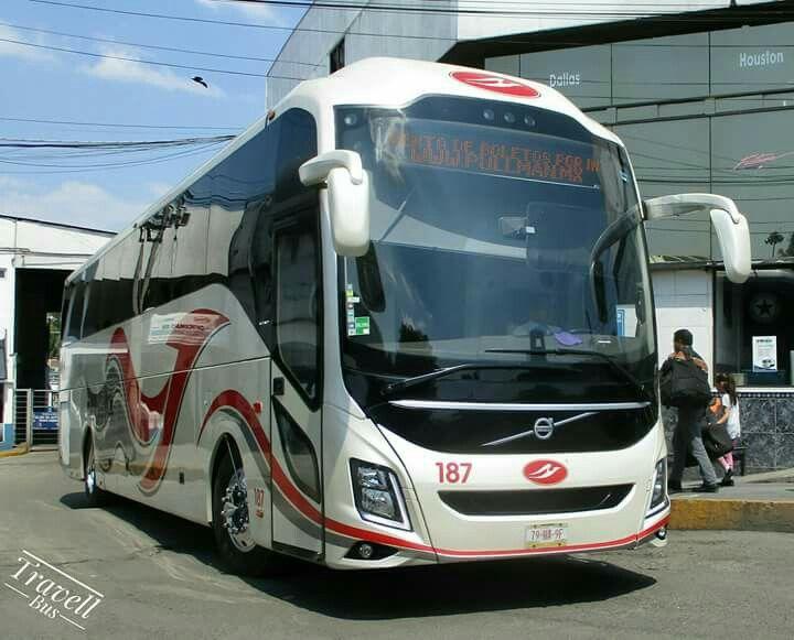 Volvo 9800 Pullman De Morelos Mexico Autobus Camiones Pasajeros