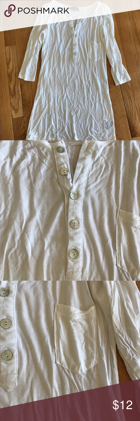 Dottie couture shirt small Worn once. Very soft dottie couture Tops Button Down Shirts