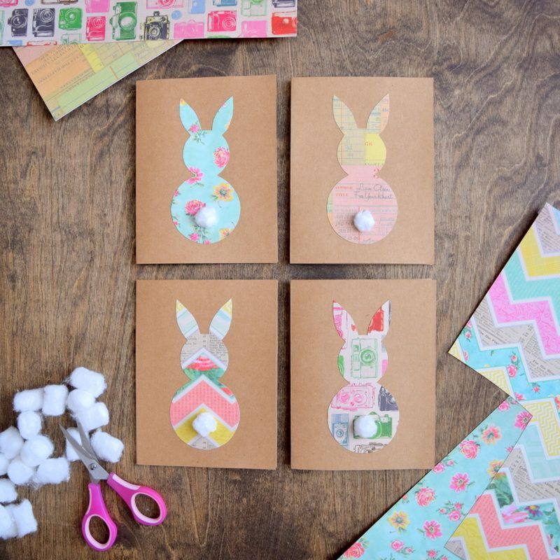Easter card diy diy easter cards happy easter card