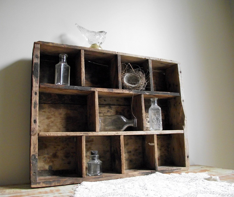 Uncategorized Wooden Crates As Shelves wooden crate shelf history vintage antique stuff pinterest shelf