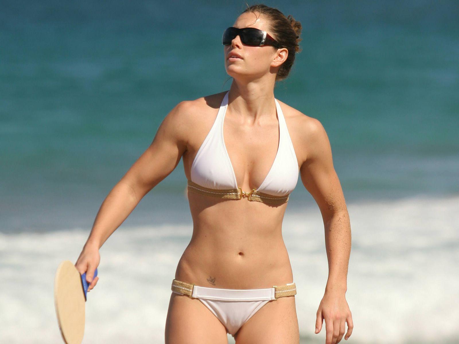 Jessica Biel S Nipples