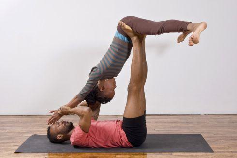 two person yoga - Google Search
