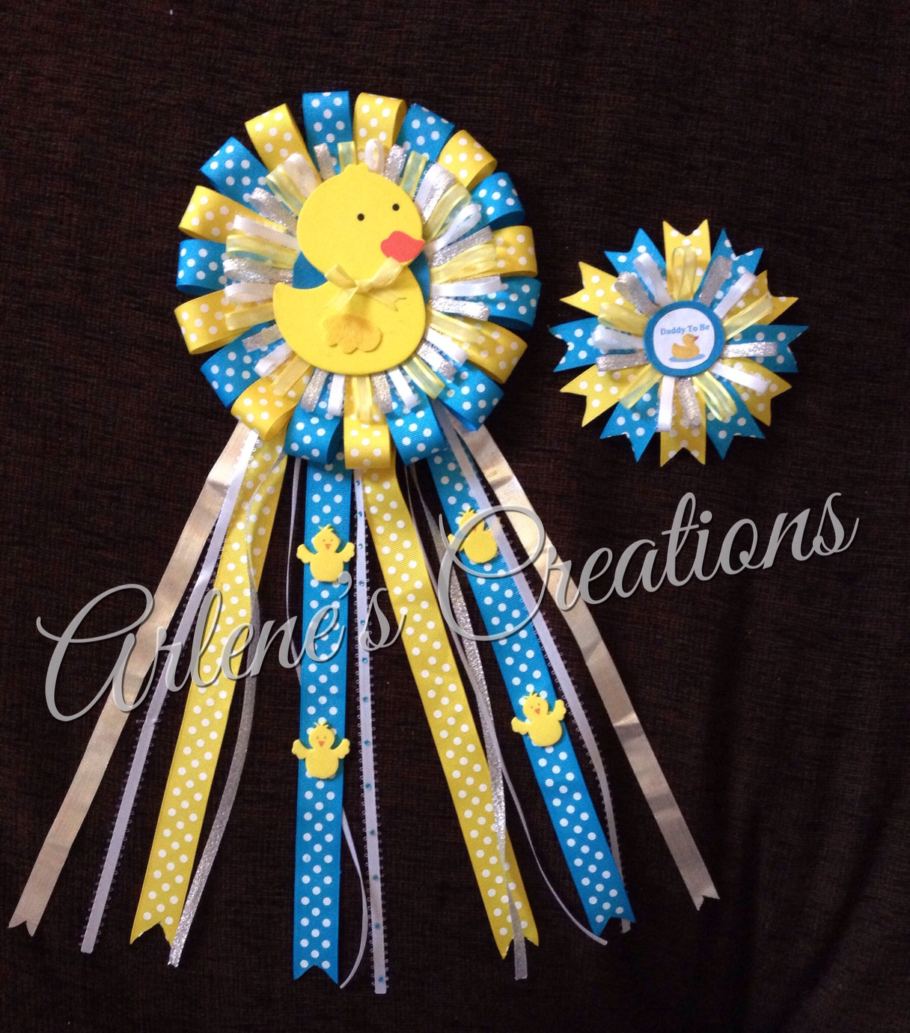 Pin By Glenda Lizeth On My Creations Baby Shower Duck Ducky
