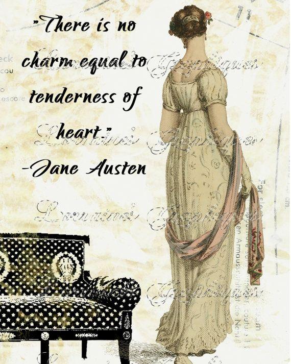 Tenderness of Heart:  A Jane Austen Inspired Motivational Fine Art Photographic Print