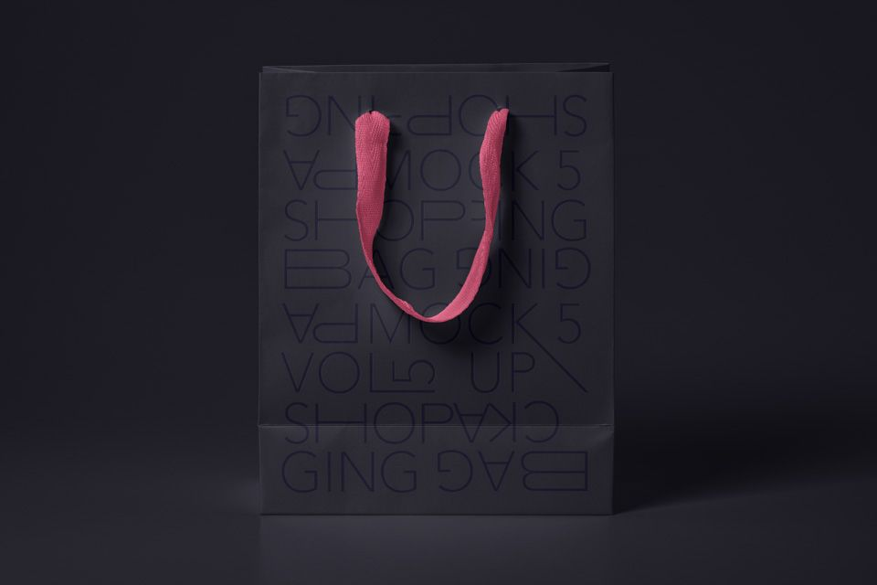 Download Standing Paper Shopping Bag Mockup Bag Mockup Free Packaging Mockup Free Mockup
