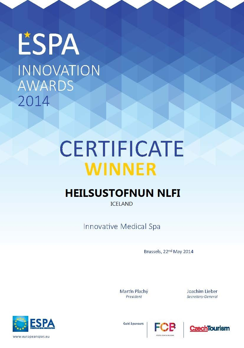 THE WINNERS Category 2 Innovative Medical Spa