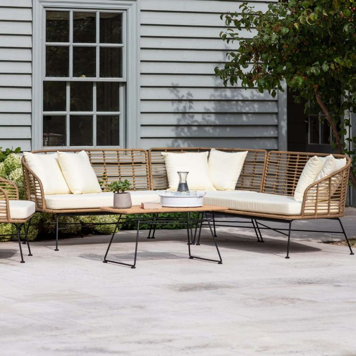 Hampstead Corner Sofa Graham Green Outdoor Lounge Seating Contemporary Garden Furniture Outdoor Sitting Area