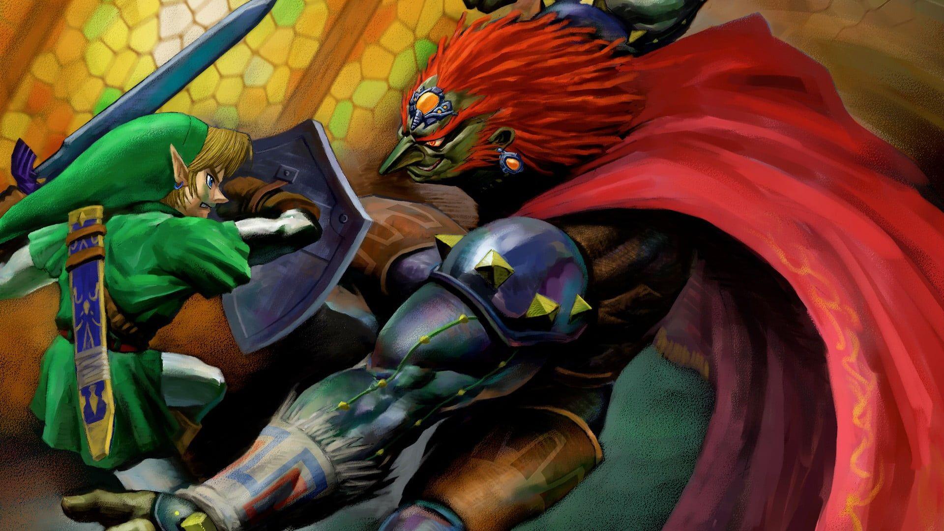 Nintendo Zelda Link Illustration The Legend Of Zelda Ganondorf Master Sword 1080p Wallpaper Hdwallpap Legend Of Zelda Time Wallpaper Legend Of Zelda Poster