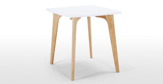 fjord kleiner esstisch eiche und wei deko pinterest esstisch tisch und eiche. Black Bedroom Furniture Sets. Home Design Ideas