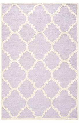 Safavieh Cambridge Cam140 Lavender Ivory Rug
