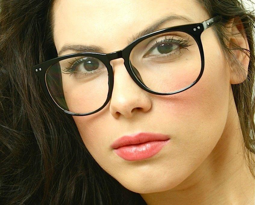 99461dedae855 Retro Vintage Huge Big Oversized Round Black Frame Key Hole Eyeglasses  Glasses  FashionDeals