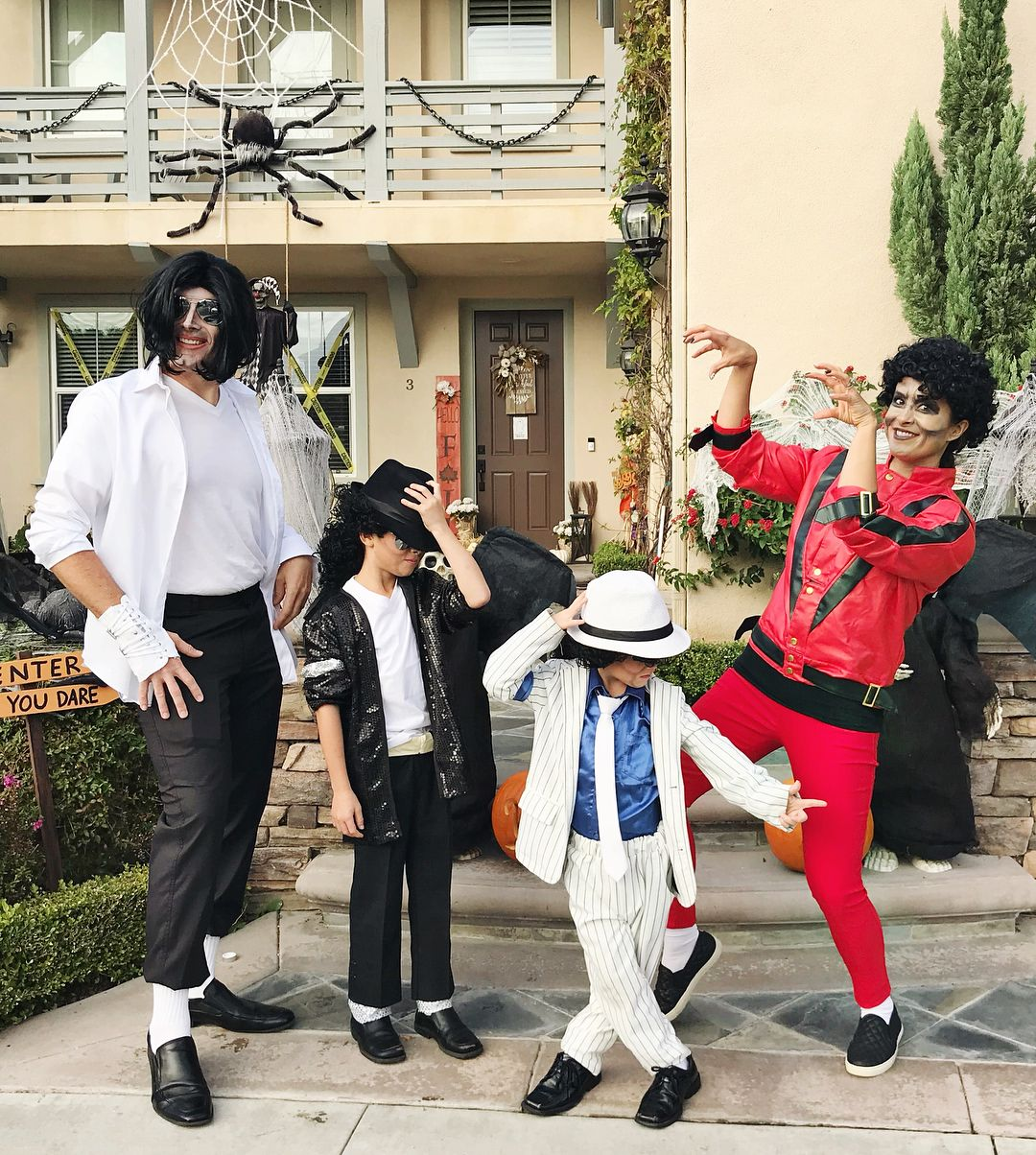Michael Jacksons Halloween 2020 Michael Jackson Halloween Family Costume. #halloween