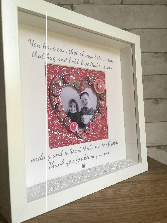 Grandchildren Photo Frame, Grandparent Gift, Love Heart Frame ...