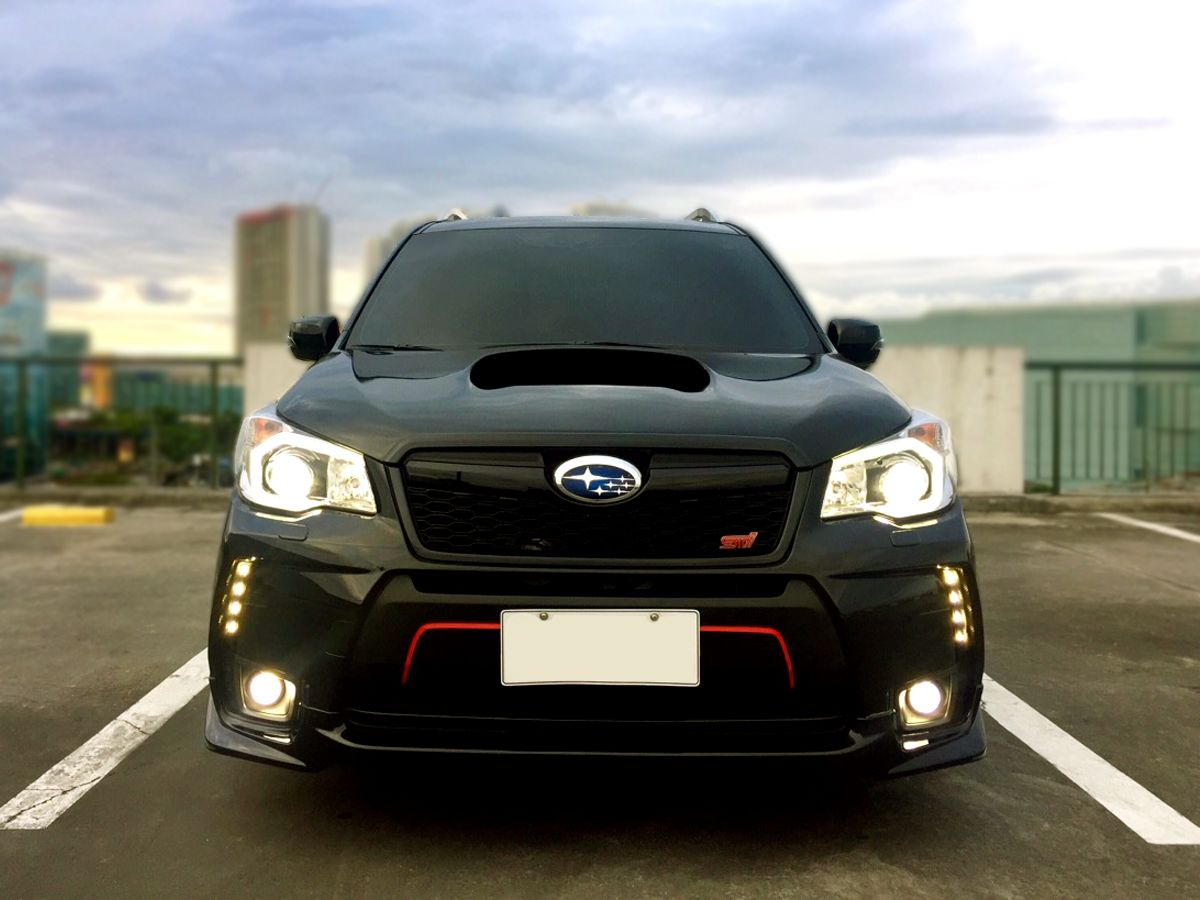 2016 subaru forester xt custom hood scoop