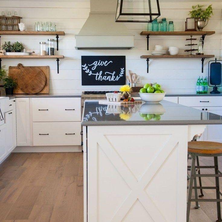 36 the ultimate modern farmhouse kitchen joanna gaines cabinets trick homekn modern on farmhouse kitchen joanna gaines design id=48472