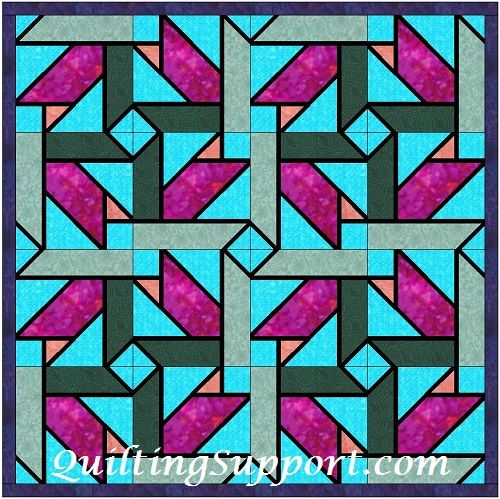 Stained Glass Foundation Patterns