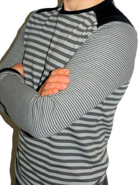 Föhr Schnittmuster Pullover Shirt Herren Mann farbenmix ...