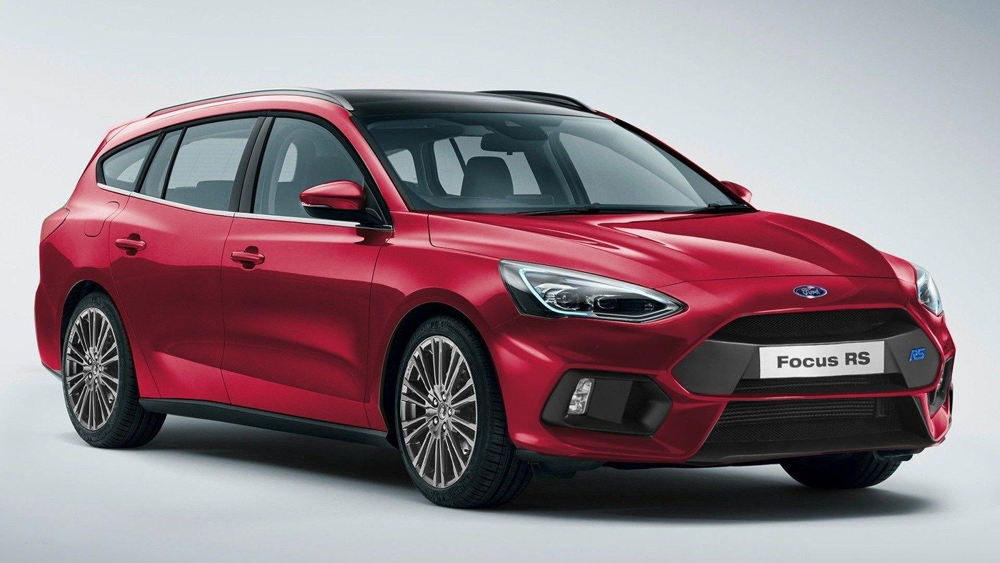 2020 Ford Focus Rs Imagined In Hatchback Sedan Station Wagon