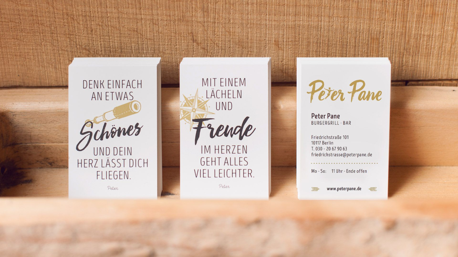 Visitenkarten Design Mit Unterschiedlichen Zitaten Zur