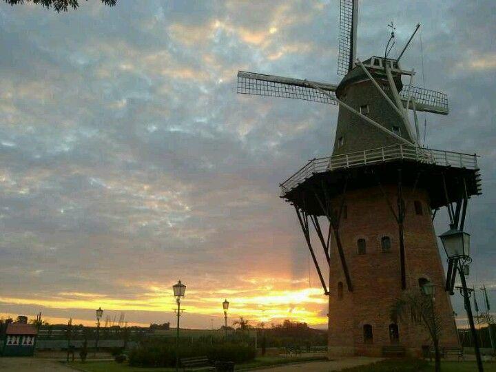 molino, sun set, campinas, sky