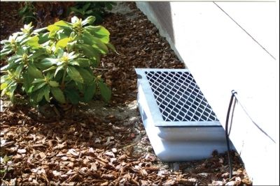 Vent Well Cover By Mitchell S Keep Your House Foundation Healthy And Clean House Foundation Landscaping Around House Crawl Space Cover