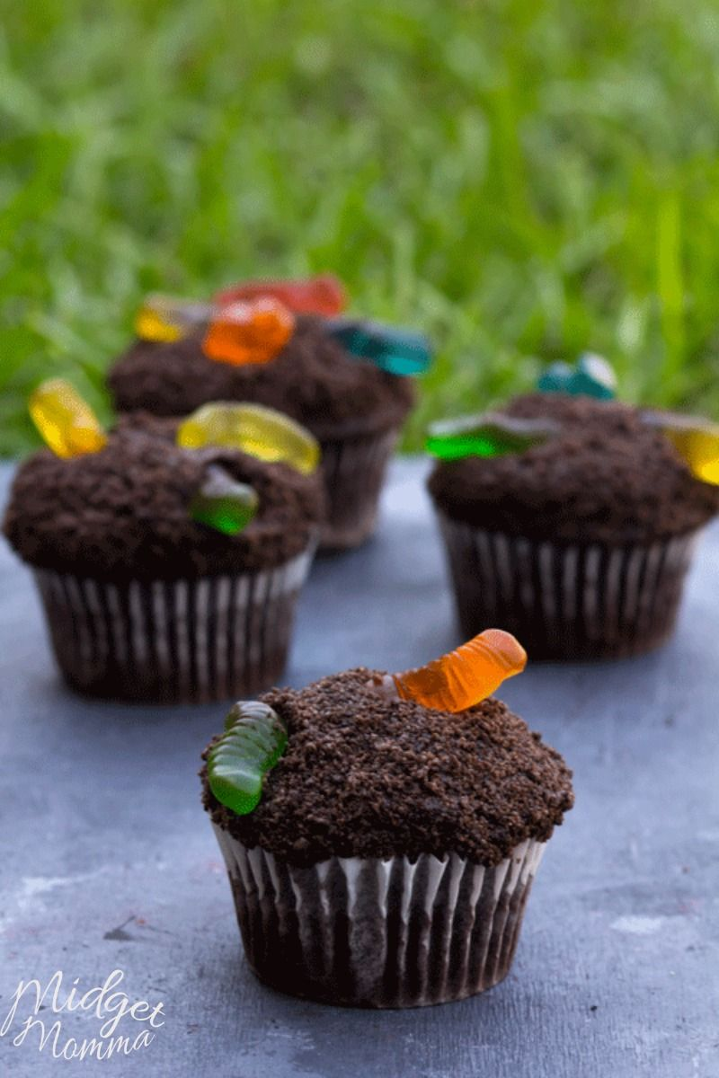 Fun For The Kids Cup Of Dirt Cupcakes Midgetmomma Dirt