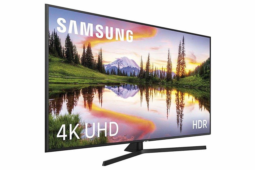 Smart Tv De 65 Pulgadas Samsung 65nu7405 Con Resolucion 4k A Su