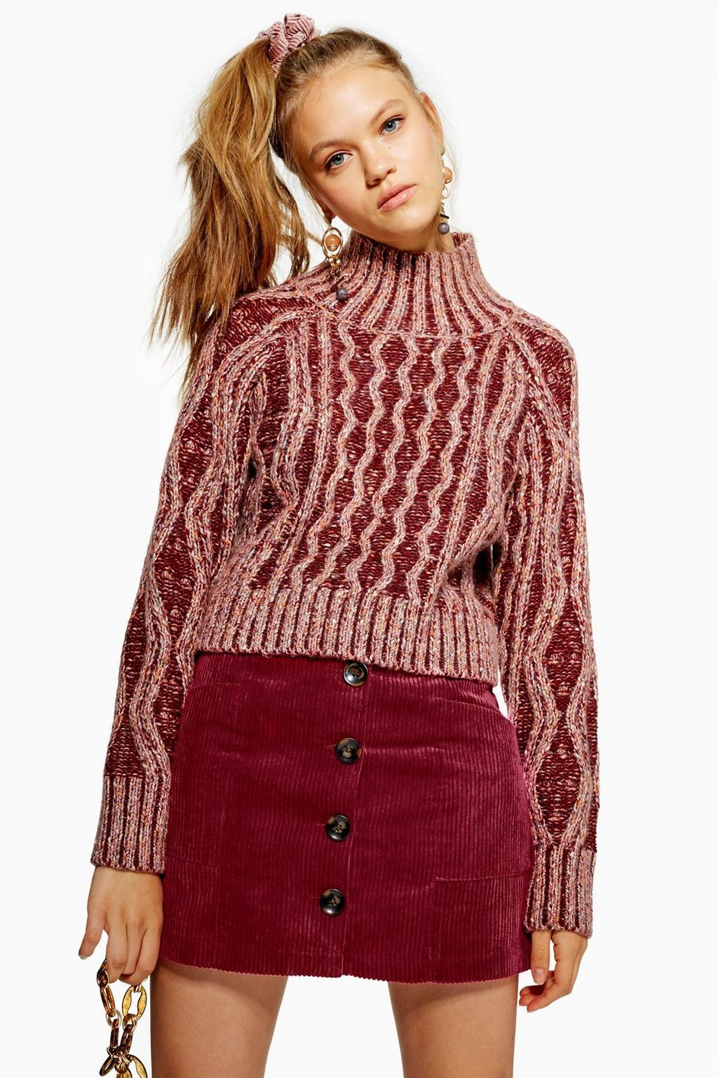 a2f796bf4d8a6b Corduroy Pocket Mini Skirt in 2019 | Topshop | Mini skirts, Skirts ...