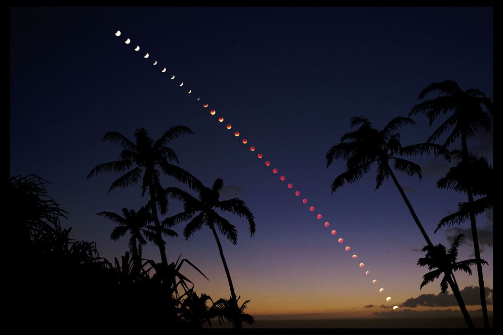 check out 5cc7b 769ca How to Photograph a Lunar Eclipse (Photo  Multiple exposure of lunar eclipse  over Maui, Hawaii by Fred Espenak)