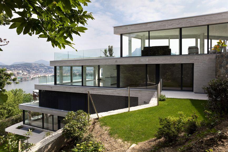 118 Modern Houses Photos House Built Into Hillside Beautiful
