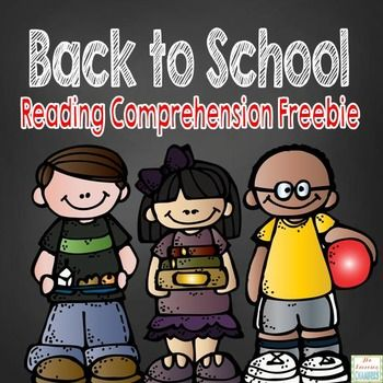 Freebie: Are you looking to improve your students' written responses to open-ended questions? Do your students struggle with writing summaries or identifying the main idea? Do your students need extra practice with comprehension? This back to school themed reading passage and comprehension question freebie will be sure to help!