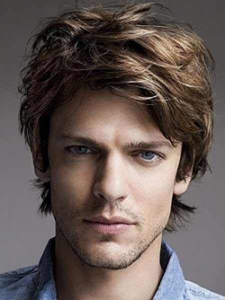 Easy Medium Length Hairstyles For Men Mens Hairstyles Medium Wavy Hair Men Medium Hair Styles