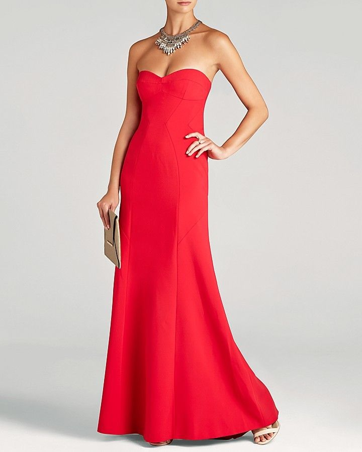 aae800a5f3b3 $398, Surrey Strapless Gown Bloomingdales by BCBGMAXAZRIA. Sold by  Bloomingdale's. Click for more