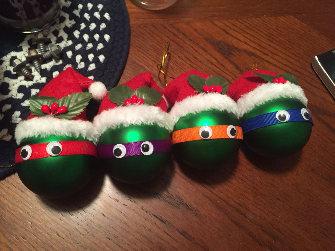 TMNT ornaments Holiday, Christmas ornaments, Holiday decor