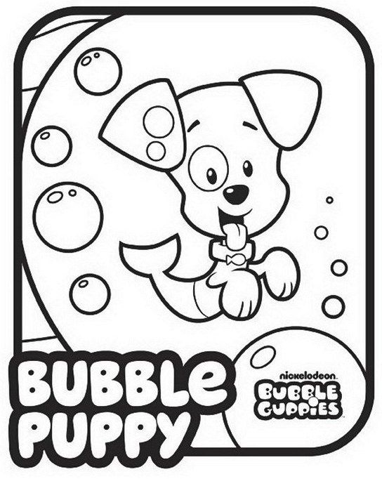 Bubble Guppies Nickelodeon Coloring Pages Printable | nickelodeon ...