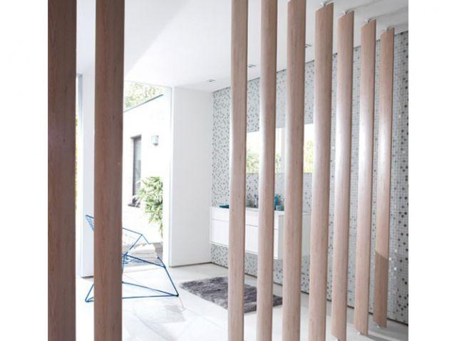 Séparer sans cloisonner cest possible elle décoration claustra boiscloison
