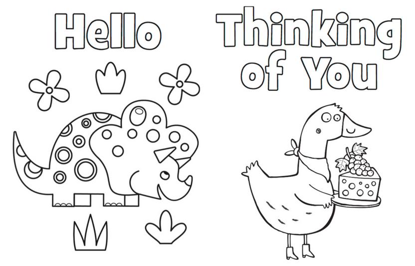 - Printable Coloring Cards Highlights Printable Coloring Cards, Free  Printable Cards, Printable Postcards