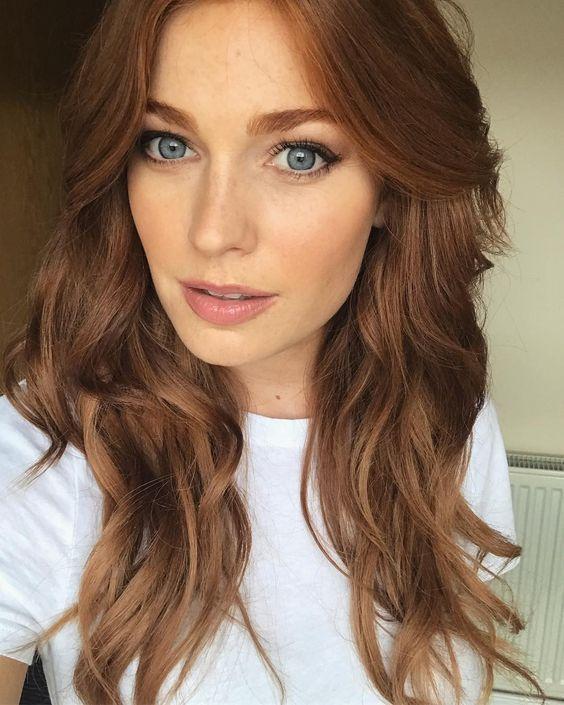 Photo of Colores y tonos de cabello caramelo – # Caramel # colores # tonos – #GingerHairMakeup