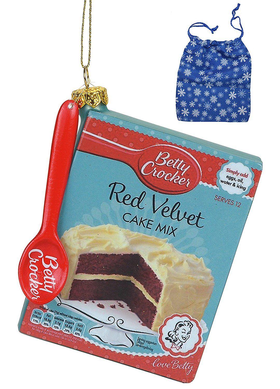 Amazon.com: General Mills Betty Crocker Cake Mix Ornament and Bag ...