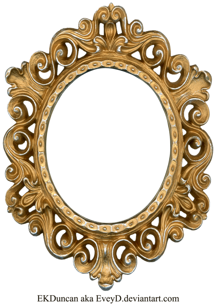 also vintage gold and silver frame oval by eveyd on deviantart to rh gr pinterest
