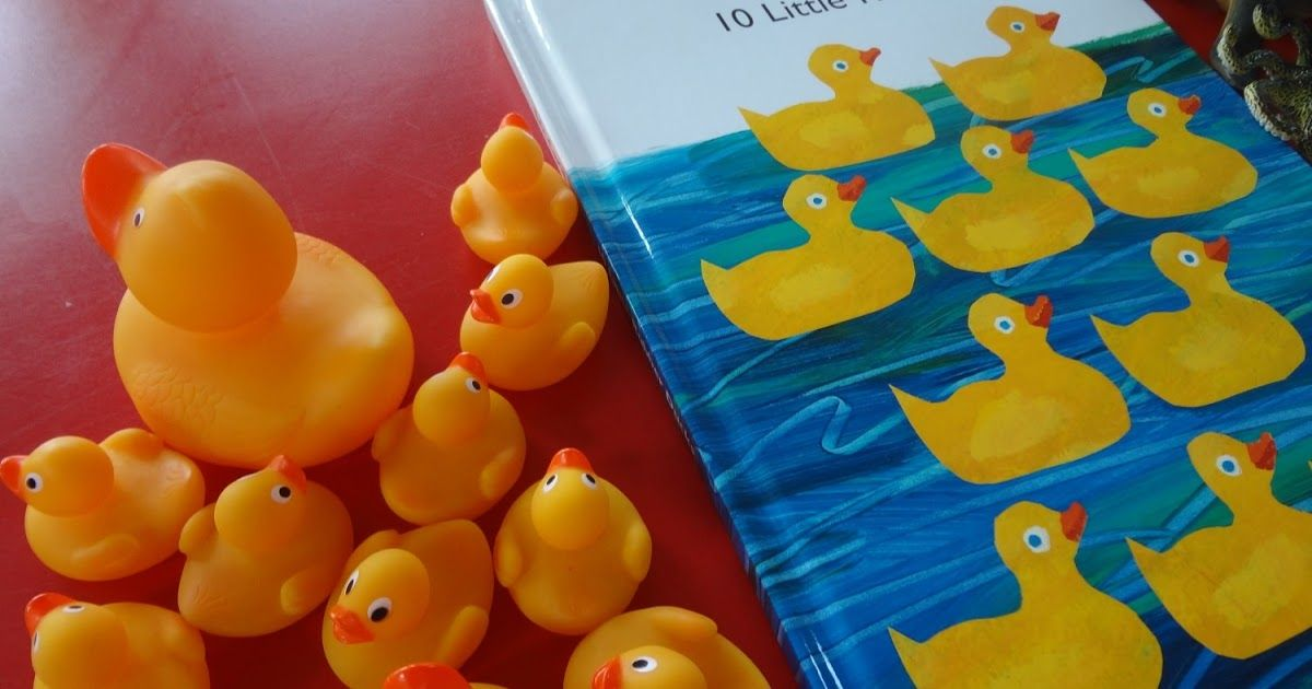 Today S Story 10 Little Rubber Ducks By Eric Carle Families Arrived At Story Cafe Today To Find Lots Of Rubber Ducks And Numbers To P Rubber Duck Duck Story Eric Carle