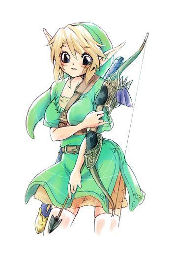 Image 507328 Rule 63 Rule 63 Legend Of Zelda Breath Iconic Characters