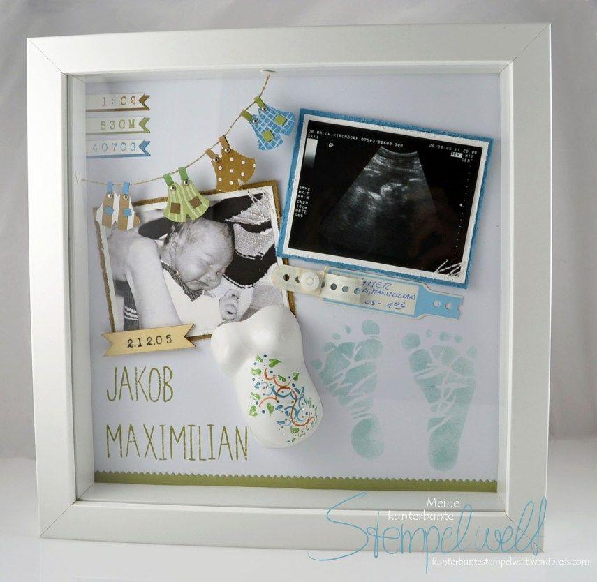Babyzimmer deko basteln  Baby-Erinnerungsbilderw | Kinderzimmer deko, Kinderzimmer und ...