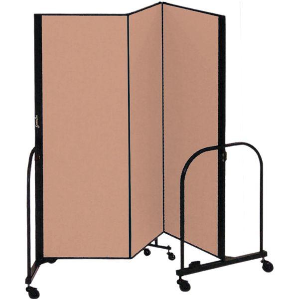 "Portable Room Divider - 3 Panels - 5'H x 5' 9""L at SCHOOLSin"