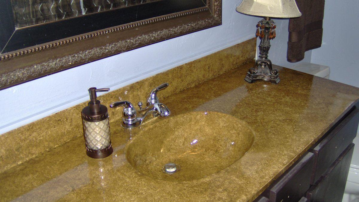 Painting A Vanity Top Refinish Bathroom Vanity Bathroom Vanity